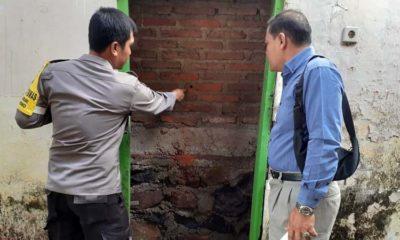 Maling Jebol Tembok Bank Jatim Srono Banyuwangi