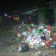Tumpukan sampah di Tempat Pembuangan Sementara (TPS) pasar Genteng 2 Banyuwangi. (ist)