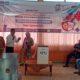 Komisioner KPU Banyuwangi saat menggelar sosialisasi Pemilihan Bupati dan Wakil Bupati Tahun 2020 Dengan Penyandang Disabilitas, bertempat di kantor KPU Banyuwangi, Selasa (5/8/2020) siang (ras)